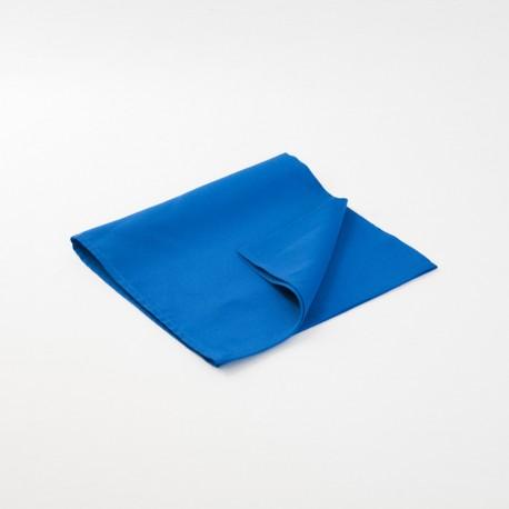 Serviette bleu roi