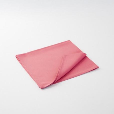 Serviette rose poudrée