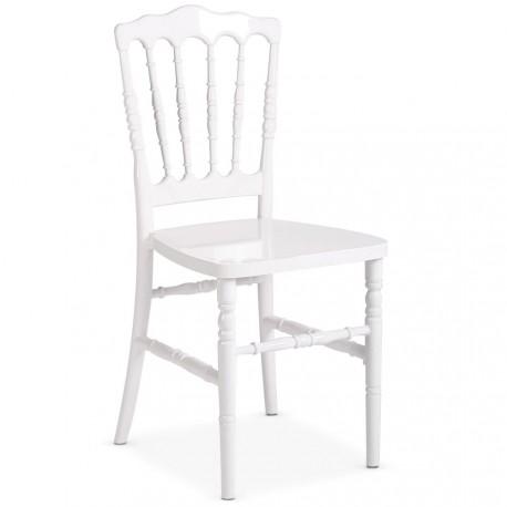 Chaise Napoleon Blanche Fixe