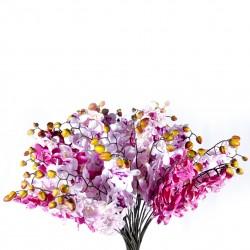 Fleur : Orchidée / tige, 97cm artificielle
