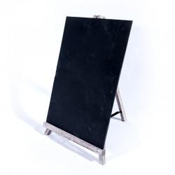 Ardoise 47x28x3cm + présentoir bois