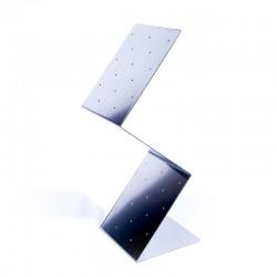Porte brochette Inox 15x16x42,4 picc non fourni
