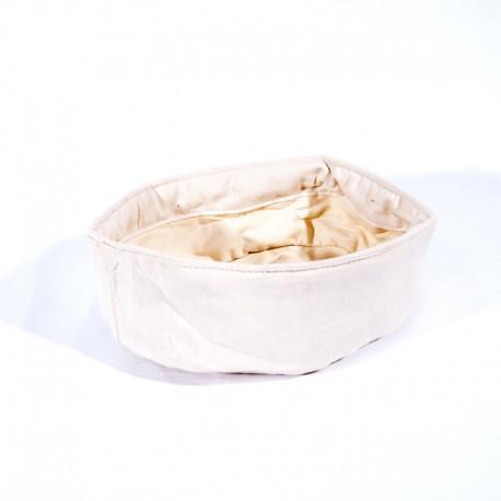 Panier nid coton beige oval